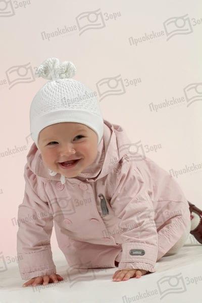 Семейная фотосессия младенца