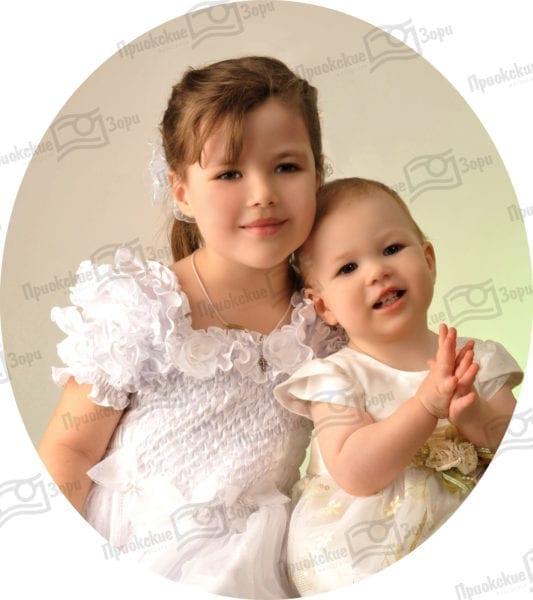 Семейная фотосессия брат и сестра