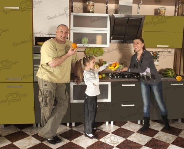 Семейная фотосессия на кухне 3