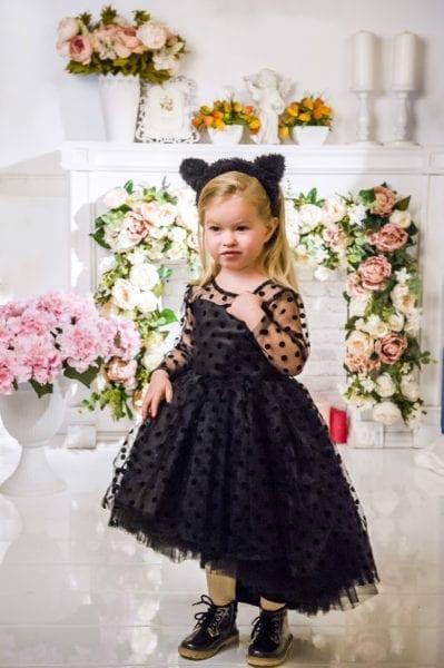 Фото в черном платье
