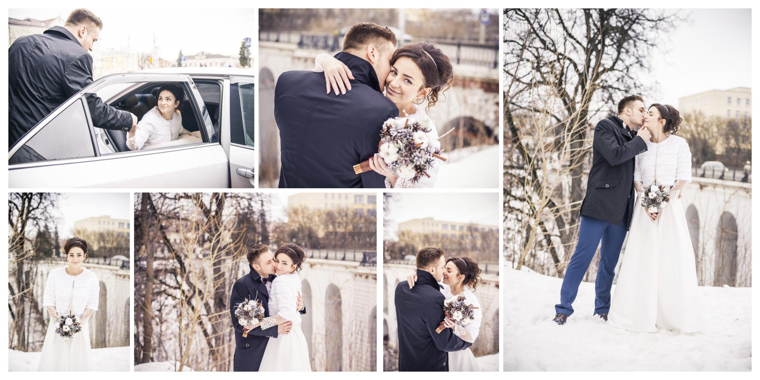 Фотокнига свадебная 2 в портфолио
