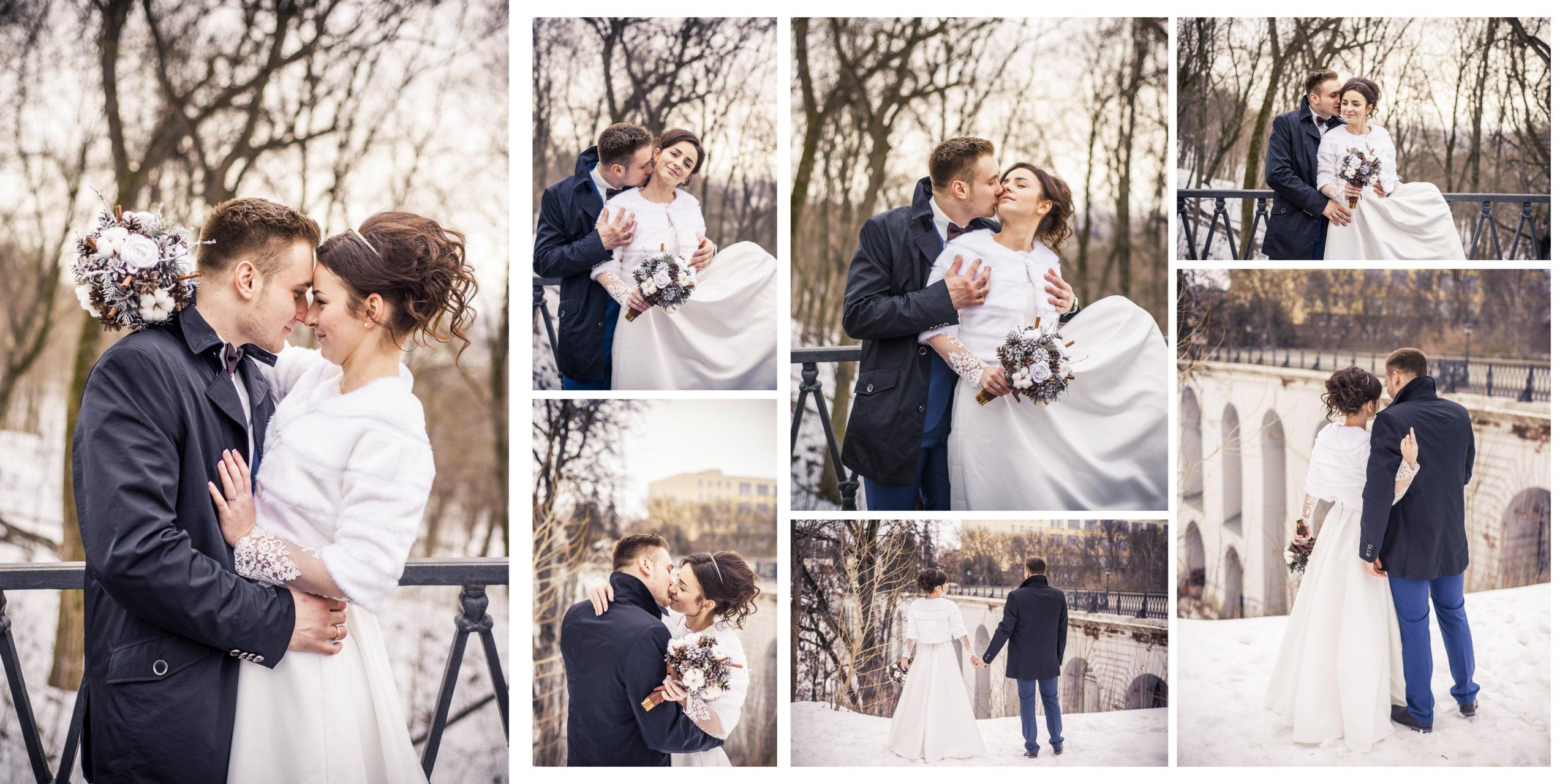 Фотокнига свадебная в портфолио