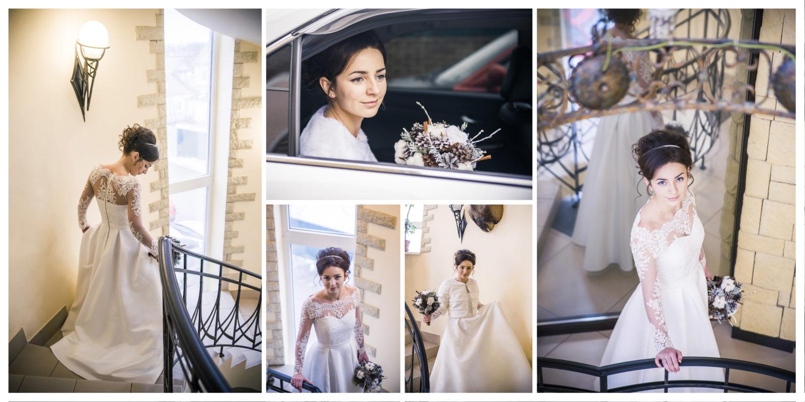Фотокнига свадебная страница 1