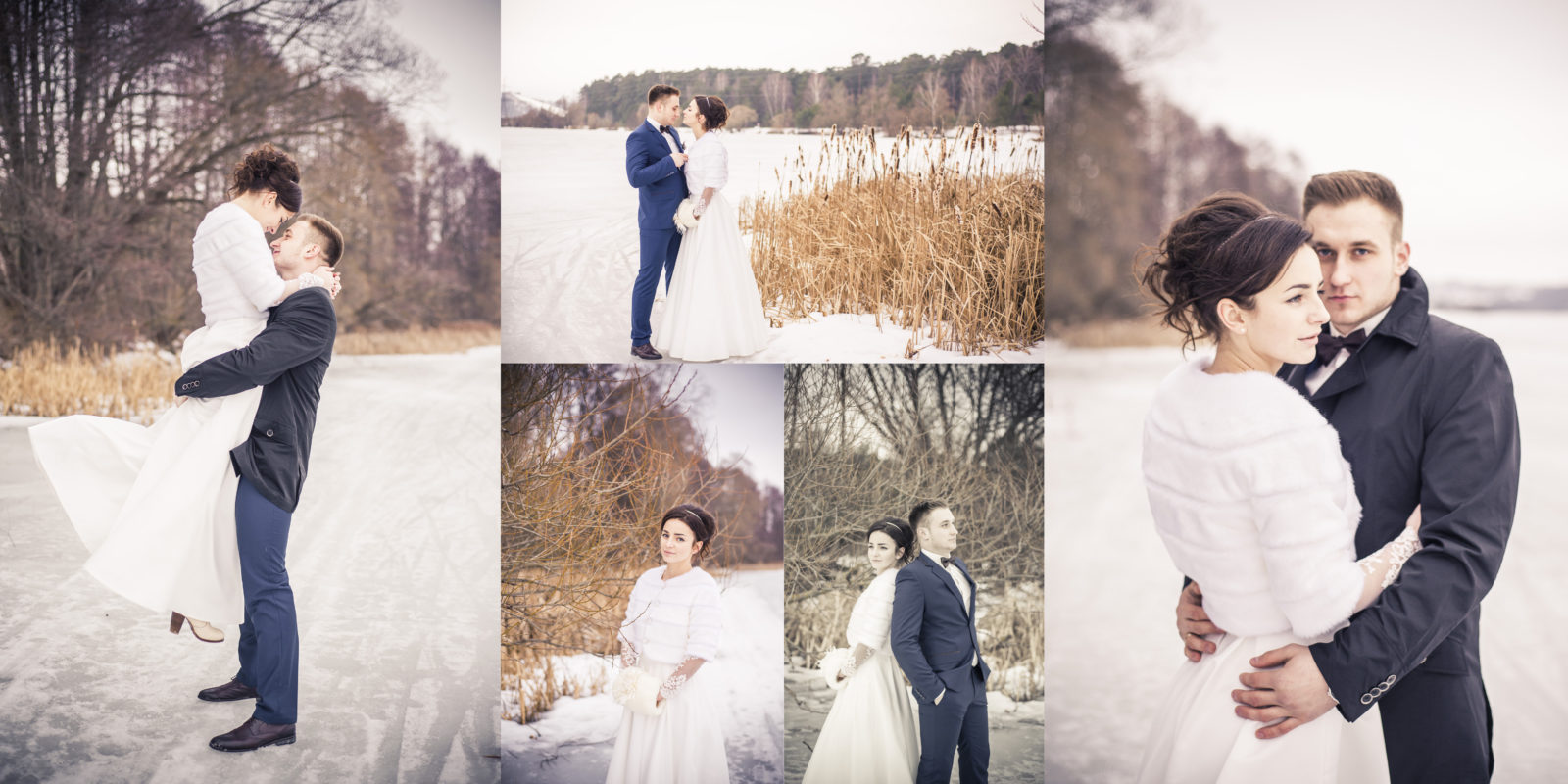 Фотокнига свадебная на природе