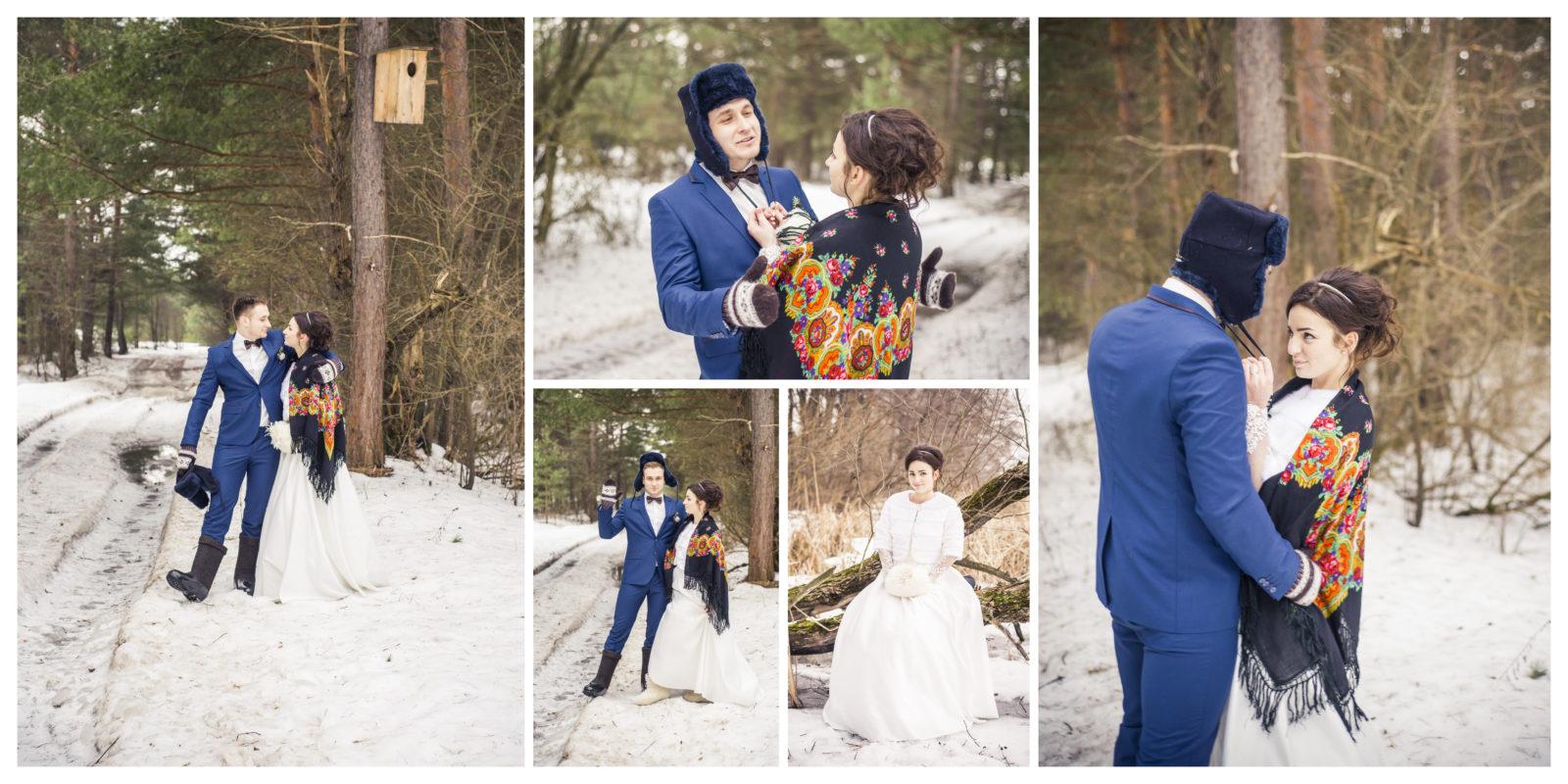 Фотокнига свадебная коллаж