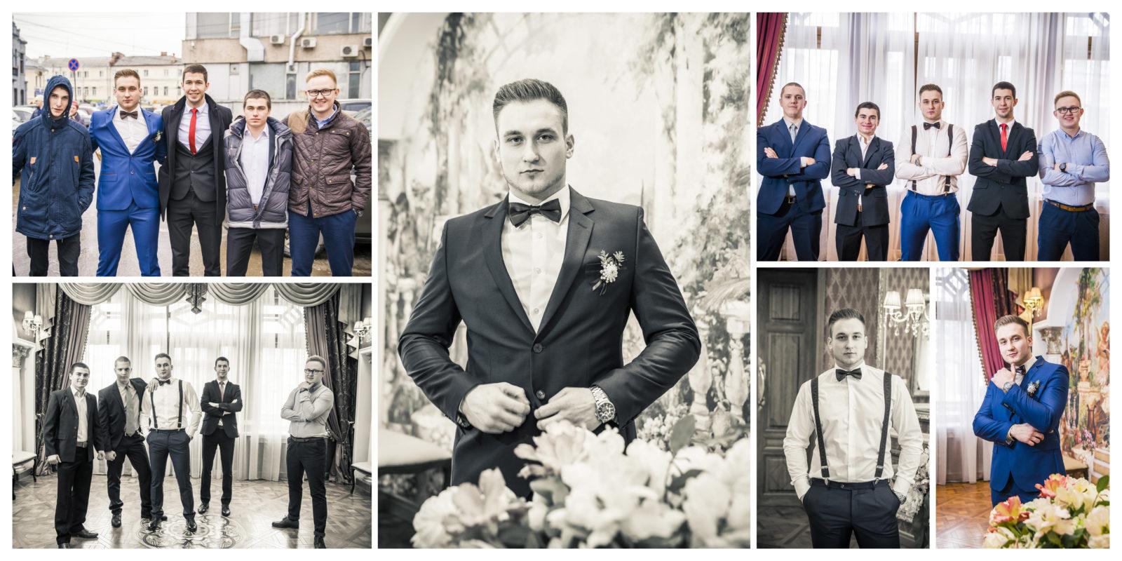 Фотокнига свадебная страница 2
